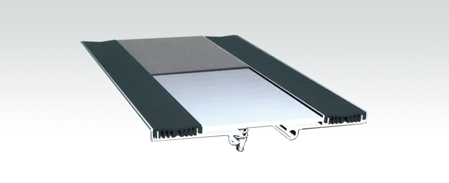 双列嵌平型地面变形缝