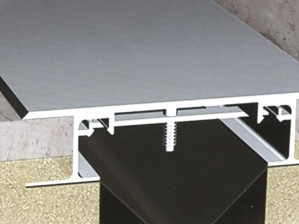 屋面变形缝的防水构造